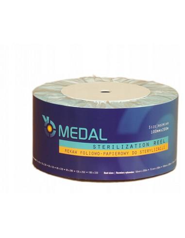 ZF.  Rękaw folia-papier 10cmx200m Medal